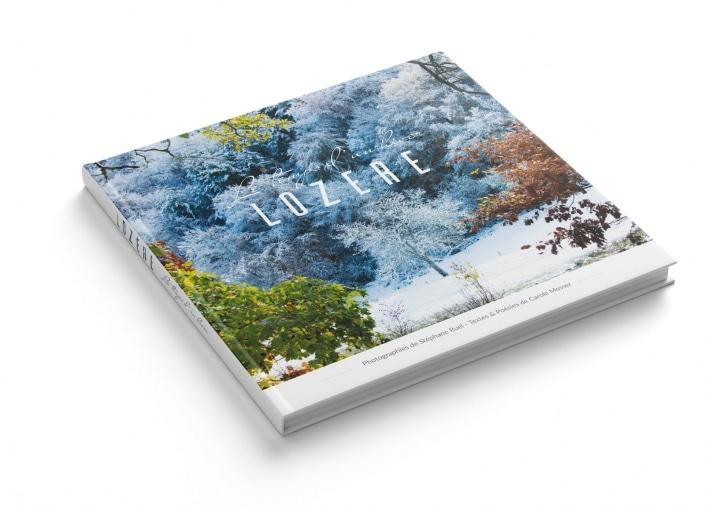 Vente magnifique livre lozere en hiver - causse mejean- Margeride - Lac de Charpal - occitanie - gard - montpellier - livre d'art - florac - mende - 48 livre beaux art cevennes